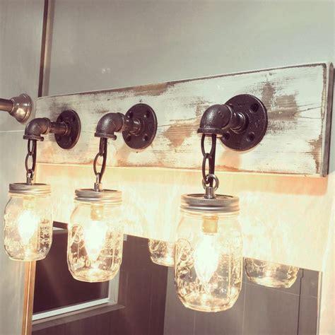 jar bathroom light fixture 25 best ideas about jar lighting on