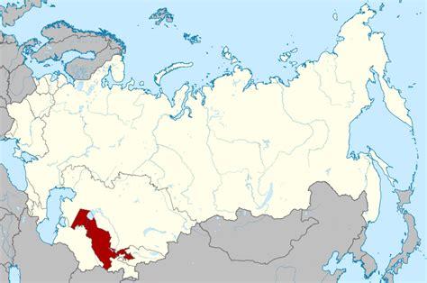 uzbek soviet socialist republic wikipedia file soviet union uzbekistan svg wikimedia commons