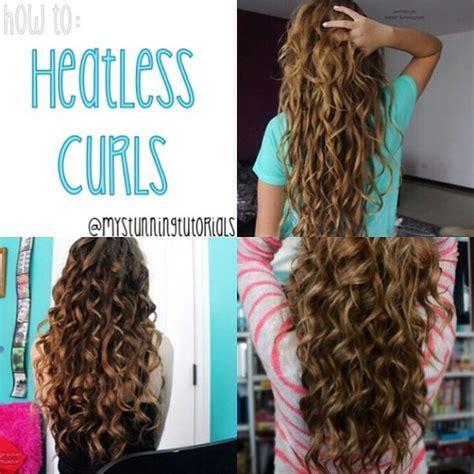 heatless hairstyles pinterest heatless curls curls and overnight curls on pinterest
