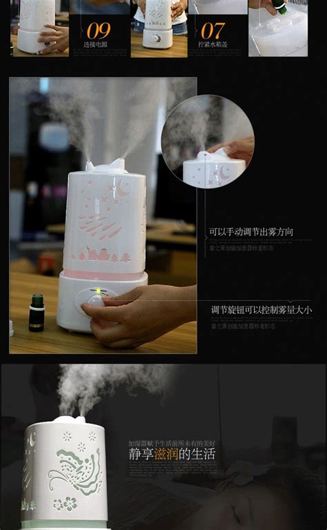 Crane Cool Mist Humidifier Alat Pelembab Udara ultrasonic humidifier mist diffuser air purifier aroma essential home office bedroom