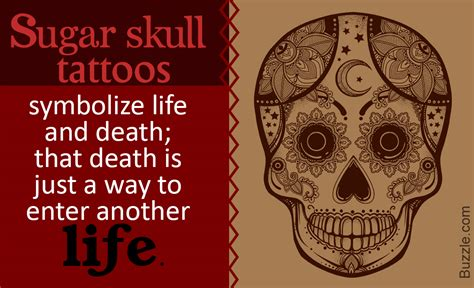 what does a skull tattoo mean what does a sugar skull symbolize the answer is