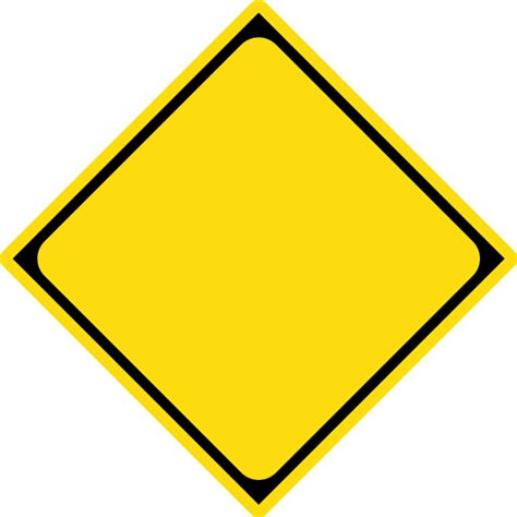 file japanese road warning sign template svg wikimedia