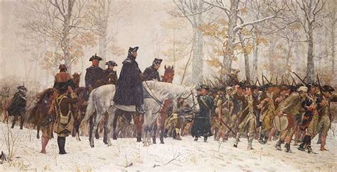 Washington At Valley Forge valley forge