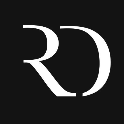 rd logo | logo designed for a friends photography business