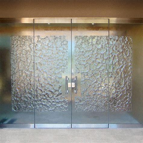 glass door custom glass cast glass images