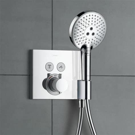 Bath Shower Thermostatic Mixer hansgrohe showerselect set de finition pour robinet de