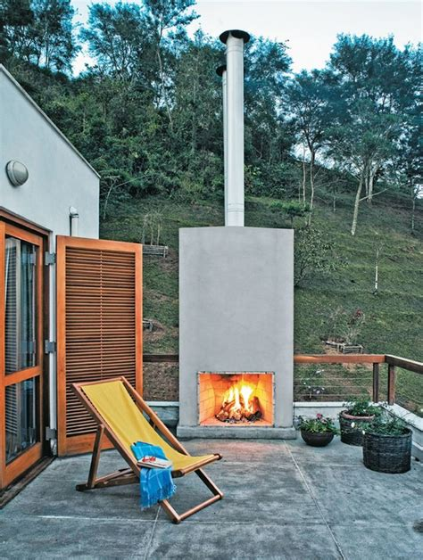 Design Of Fireplace by Cheminee Terrasse Transat Design Confortable Basse Pots