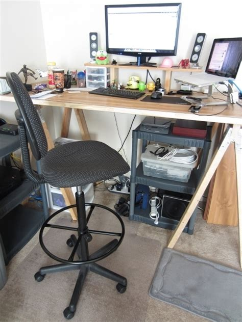 drafting stool for standing desk drafting stool tall office chairs for standing desks