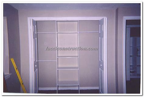 Closet Door Installation Closet Doors Installation How To Install A Bi Fold Closet Door Handymanhowto Install Closet
