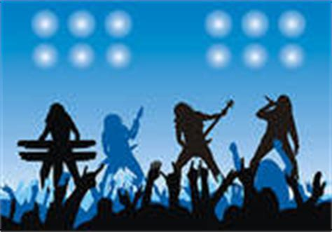 Rock Concert Clipart fans on concert stock illustrations gograph