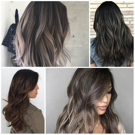 ash brown hair color grombre hair colors in 2018 best hair color ideas of hair