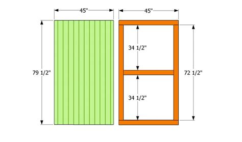 how to build a shed door howtospecialist how to build step by step diy plans
