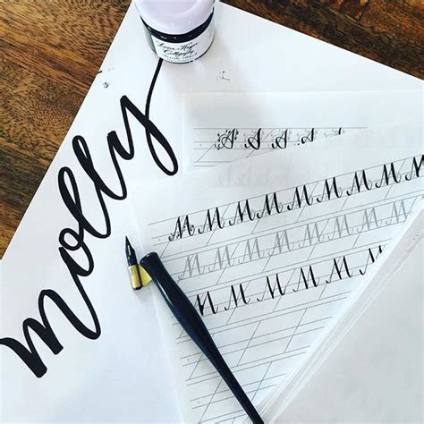 1000 ideas about modern calligraphy alphabet on