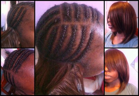 bob sew in with invisilbe part hair by tolan invisible parting sew in part 2