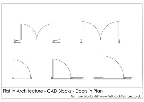 blueprint door symbol free cad blocks door elevationsplans first in architecture