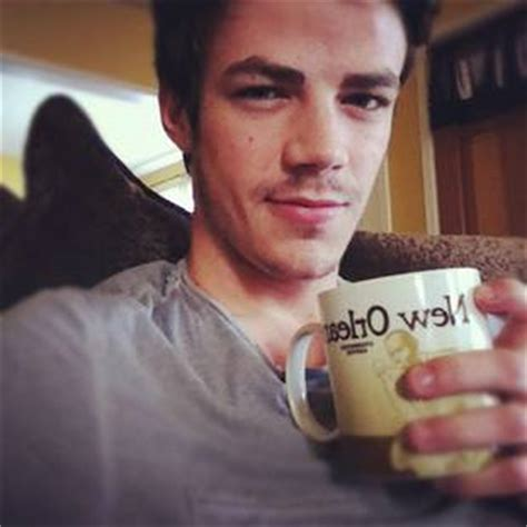 grant gustin tattoo grant gustin gets his what does it say photo