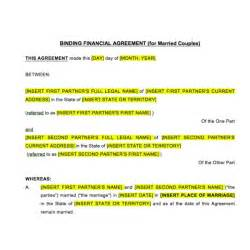 financial agreement template 10 best images of financial agreement contract free