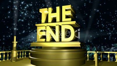 the end hd1080: royalty free video and stock footage