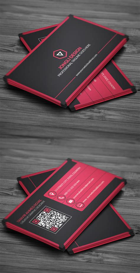 28 awesome business card templates awesome travel
