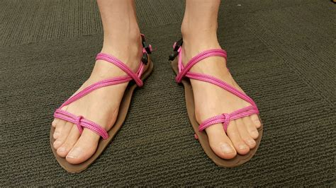 diy barefoot shoes make your own sandals janice style xero shoes