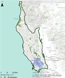 california coast ranges map gama groundwater ambient monitoring and assessment