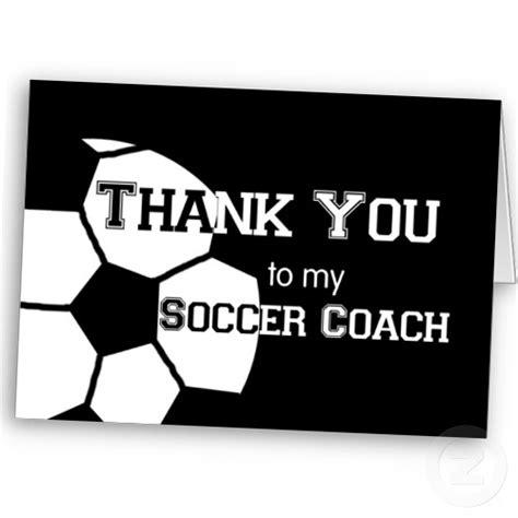 thank you card soccer coach templates soccer coaches thank you quotes quotesgram