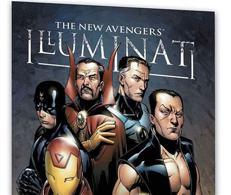 illuminati marvel new illuminati trade paperback comic books