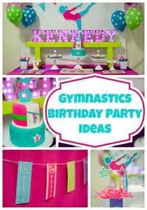 bright and colorful gymnastics birthday pretty my