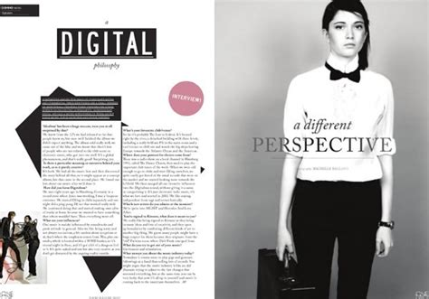 layout majalah fashion 国外杂志现代时尚版式设计欣赏 设计之家