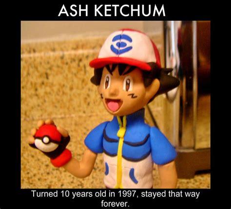 Ash Ketchum Meme - ash ketchum age meme by danielmejia12 on deviantart