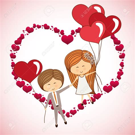 design foto couple imagenes de amor dibujos animados
