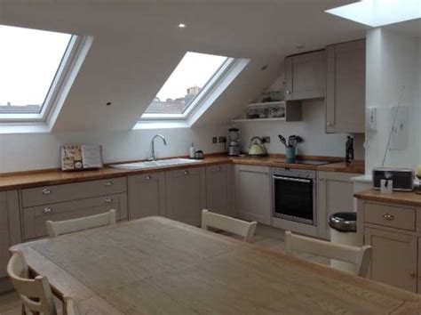 Open Floor Plan Kitchens mansard loft conversion reverse living flat tour