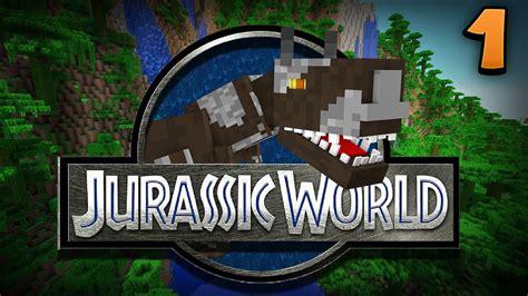 jurassic world the game mod 1 5 17 minecraft jurassic world the adventure begins episode