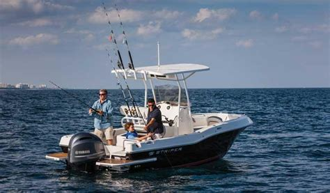 striper boats striper 200 cc small boat with big boat features boats