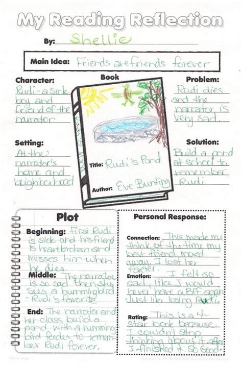 sle biography for elementary students sle of book report for elementary 28 images free book