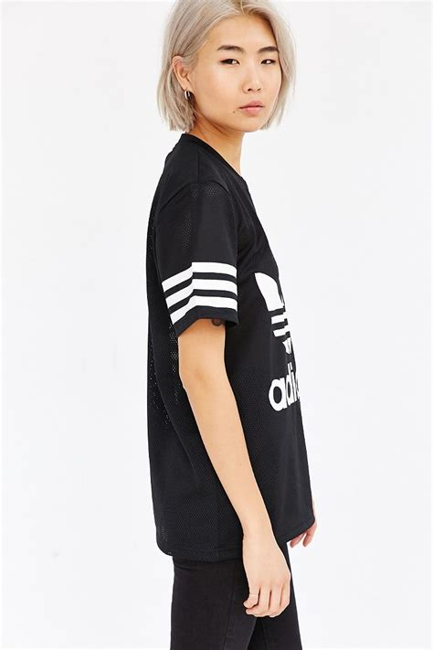 Black Unisex lyst adidas originals originals mesh unisex in black
