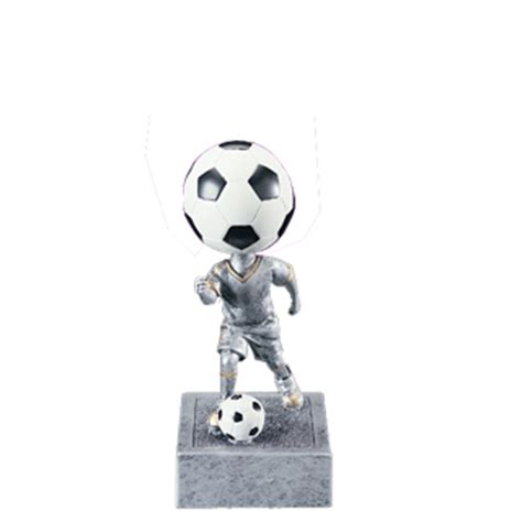 bobblehead football trophy youth soccer bobblehead trophy 6 quot soccer trophies