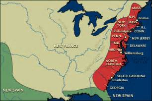 map of america in 1753 caravano the and indian war