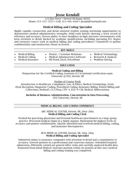 Billing Resumes Billing And Coding Resume 3 Billing Coding