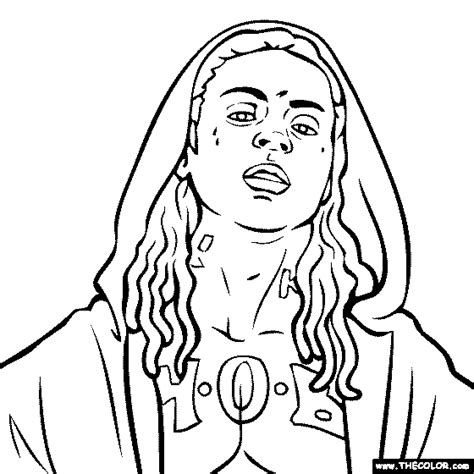 coloring book rapper hip hop rap coloring pages page 1
