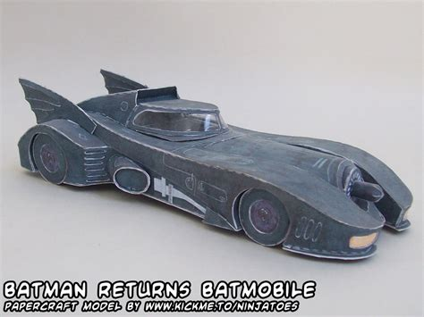 Batmobile Papercraft - papercraft batmobile by ninjatoespapercraft on deviantart