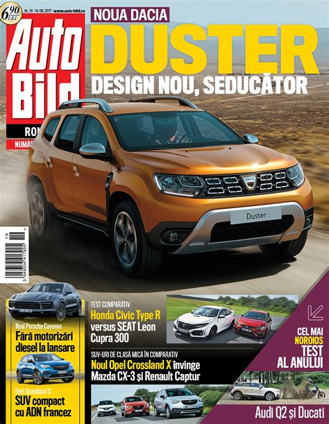 Auto Bild 14 2017 by Revista Auto Bild Nr 19 Din 14 Septembrie 2017 Revista