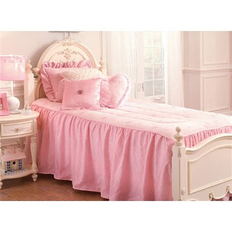 pink twin bed set pink princess twin size 3 piece comforter set by seasons