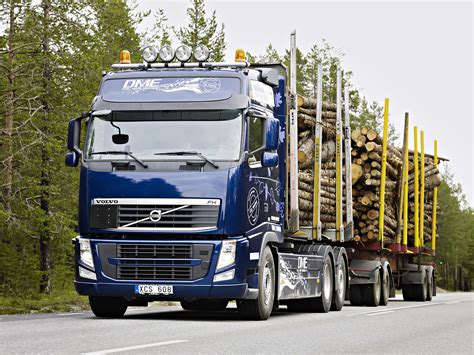 volvo 2010 truck 2010 volvo fh d13 bio dme 6x2 timber truck semi tractor