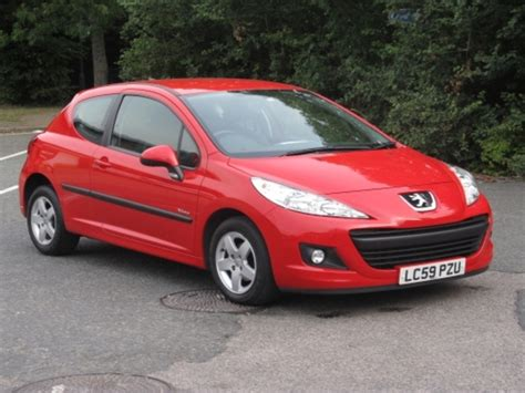 Used Red Peugeot 207 2009 Diesel Excellent Condition For