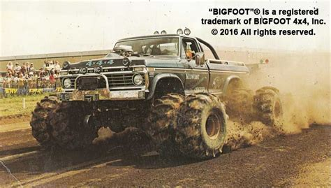 history of bigfoot truck tallest truck in the pixshark com images