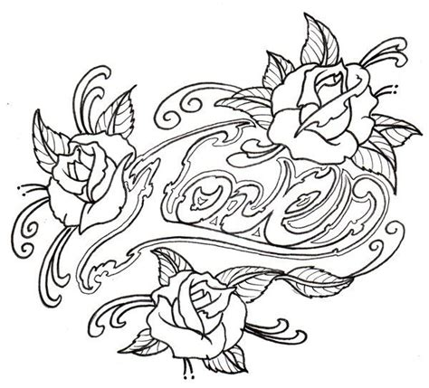 free coloring pages for adults roses wood