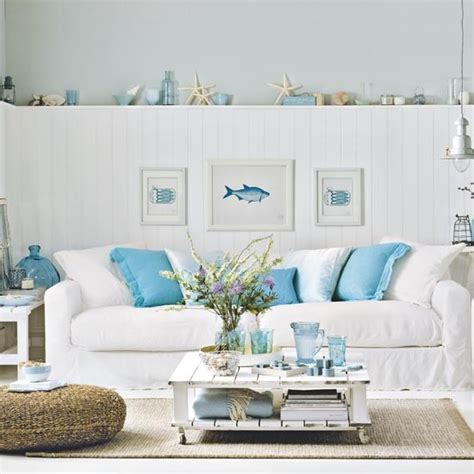 Decorating Ideas Nautical Living Room Living Room Decorating Ideas In Nautical Decor
