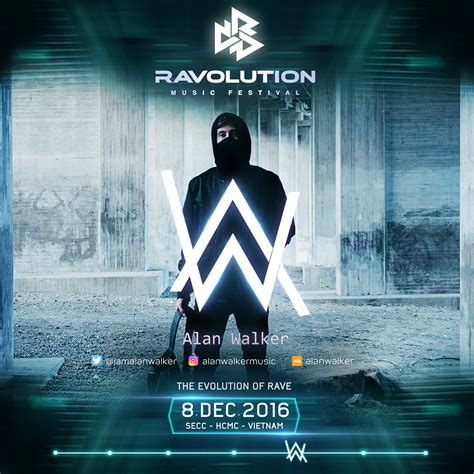 alan walker colors kshmr alan walker and more set for vietnam s ravolution