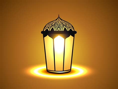 glowing lamp   vectors clipart graphics
